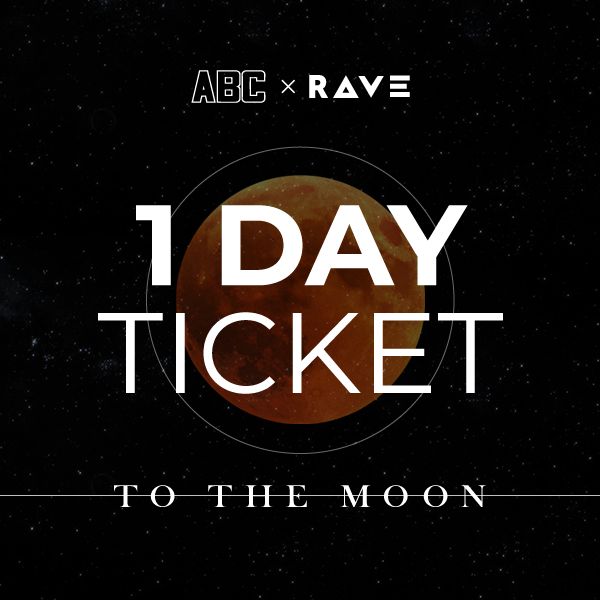 ABCxRAVE - 1 day pass