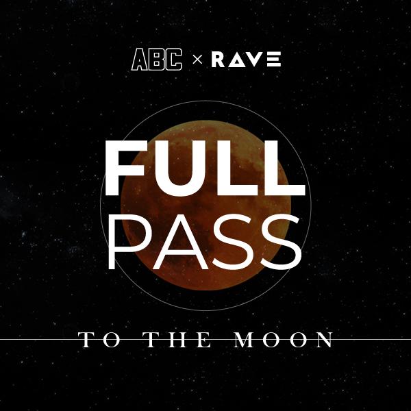 ABC x RAVE - Full pass